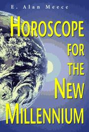 Cover of: Horoscope for the new millennium | E. Alan Meece