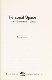 Cover of: Personal Space (Spectrum Books)