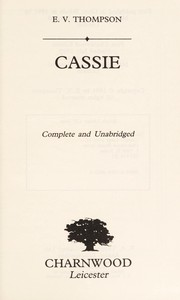 Cover of: Cassie