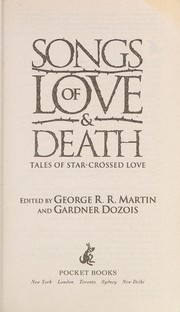 Cover of: Songs of love & death