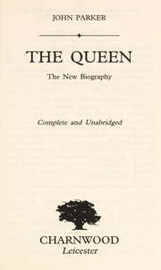 Cover of: The queen : the new biography |