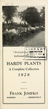 Cover of: Delightful old-fashioned flowers or hardy plants | Frank Josifko (Firm)