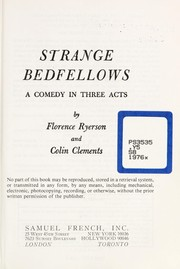 Cover of: Strange bedfellows | Florence Ryerson