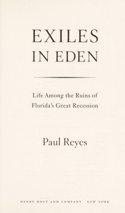 Cover of: Exiles in Eden