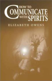 Cover of: How to Communicate with Spirits