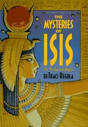 Mysteries Of Isis by deTraci Regula
