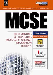 Cover of: MCSE