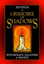 Cover of: A grimoire of shadows