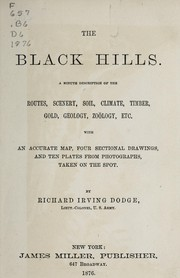 Cover of: The Black Hills. | Richard Irving Dodge
