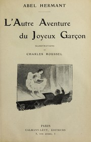 Cover of: L'autre aventure du joyeux garc ʹon