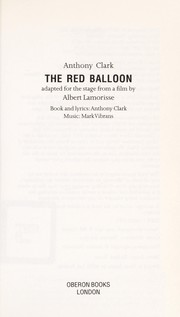 Cover of: The red balloon
