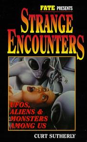 Cover of: Strange encounters