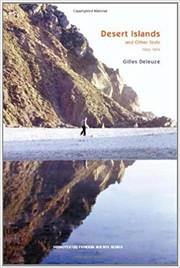 Cover of: Desert Islands: and Other Texts, 1953-1974