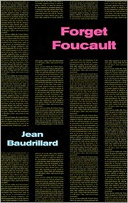 Cover of: Forget Foucault