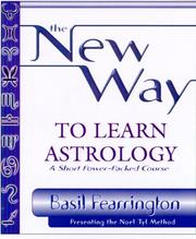 Cover of: The new way to learn astrology