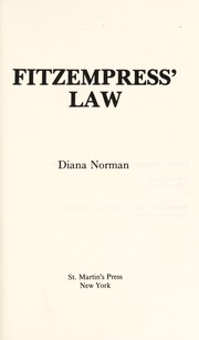 Cover of: Fitzempress' law