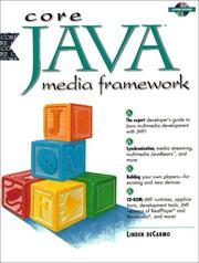 Cover of: Core Java Media Framework | Linden deCarmo