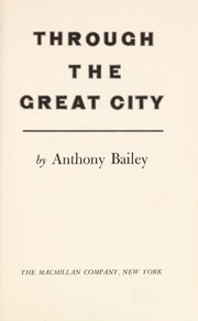 Cover of: Through the great city