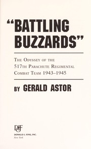 Cover of: Battling buzzards | Gerald Astor