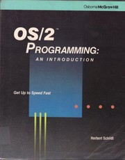 Cover of: OS/2 Programming: An Introduction