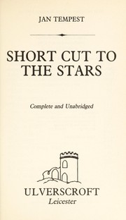 Cover of: Short Cut to the Stars | Jan Tempest