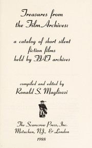 Cover of: Treasures from the film archives