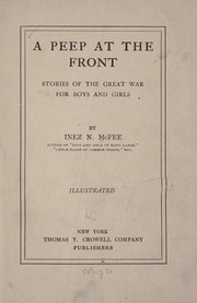 Cover of: A peep at the front