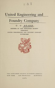 Cover of: United Engineering and Foundry Company