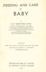 Cover of: Feeding and care of baby