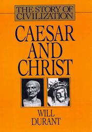 Caesar and Christ by Durant, Will