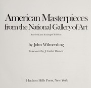 Cover of: American masterpieces from the National Gallery of Art