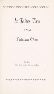 Cover of: It takes two: a novel
