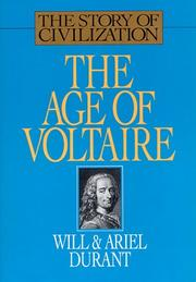 Cover of: The age of Voltaire