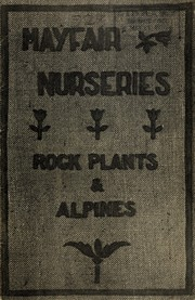 Cover of: Rock plants & alpine plants | Mayfair Nurseries