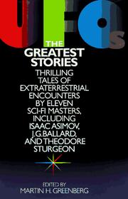 Cover of: Ufo's: The Greatest Stories