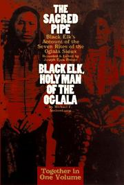 Cover of: The Sacred Pipe: Black Elk