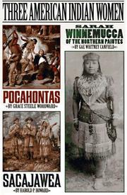 Cover of: Three American Indian women