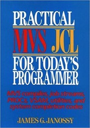 Cover of: Practical MVS JCL for today's programmers