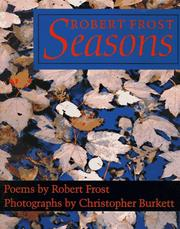 Cover of: Robert Frost Seasons: Poems