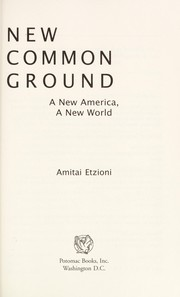 Cover of: New common ground