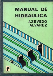 Cover of: Manual de Hidraulica | Acevedo