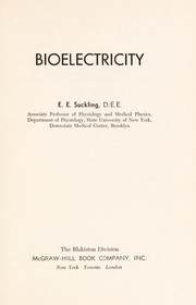 Cover of: Bioelectricity