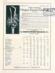 Cover of: 1928 catalogue