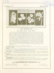 Cover of: 1928 trade list