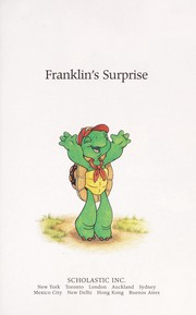 Cover of: Franklin's surprise
