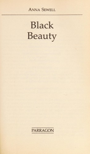 Black Beauty / a fairy tale for a land-baby / Charles Kingsley by