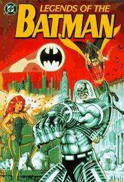 Cover of: Legends of the Batman