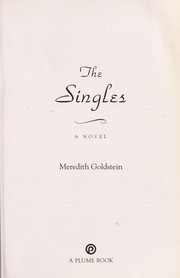 Cover of: The singles | Meredith Goldstein