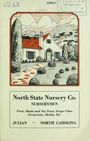 Cover of: Fruit, shade and nut trees, grape vines, evergreens, shrubs, etc | North State Nursery Co