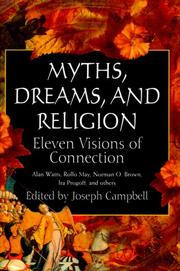 Cover of: Myths, Dreams, and Religion: Eleven Visions of Connection